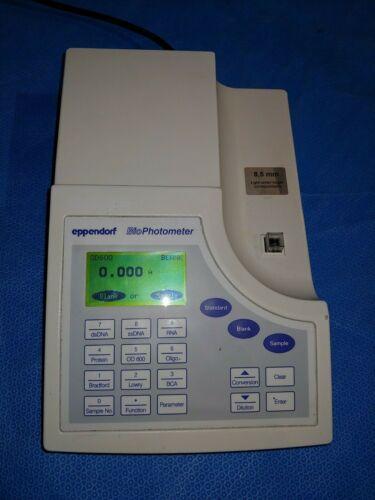 Eppendorf 6131 BioPhotometer Spectrophotometer UV/Vis DNA RNA #2