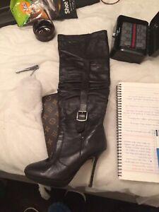 Wanted: Tony Bianco knee-high heeled boots