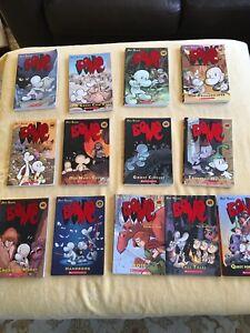 Bone books by Jeff Smith, 13 total