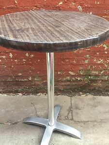 Bar table brown laminated Beaumaris Bayside Area Preview