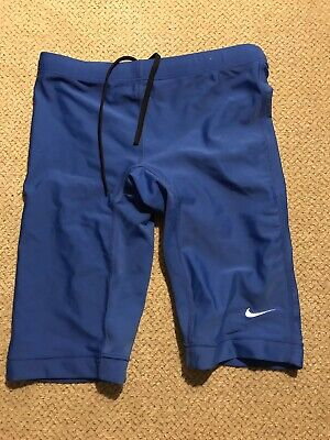 Men's Nike Jammers Racing Swimsuit Compression Tights Shorts (Mens Compression Swimwear)