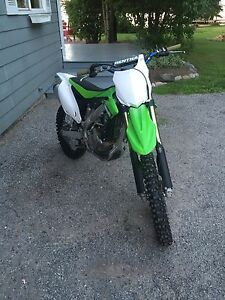 Kawasaki 2014 Kx 250f mint condition!  Peterborough Peterborough Area image 1