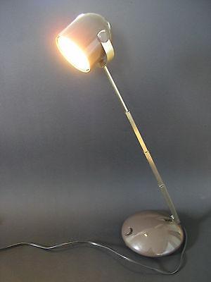 EICHHOFF*TELESKOP DESIGN LAMPE*AUSZIEHBARE TISCHLAMPE*LAMPETTE*ca. 70er JAHRE*