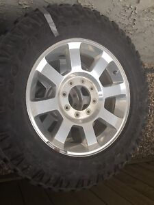 Stock F350 rims and Goodyear Tires