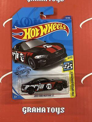 2018 Ford Mustang GT #92 Black Borla 2/10 2020 Hot Wheels Case J