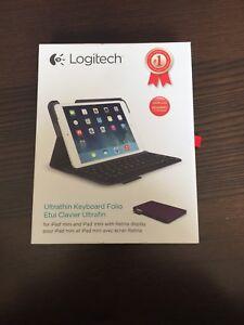 Logitech purple keyboard case for IPad mini
