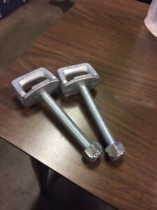 Superclamp tie down lugs