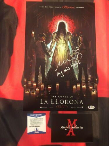 MARISOL RAMIREZ THE CURSE OF LA LLORONA SIGNED 11x17 PHOTO! BECKETT COA! HORROR!