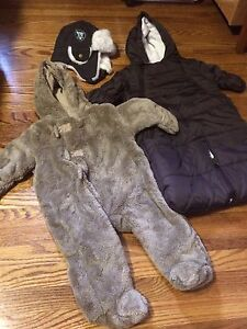 0 to 3 Months Cozy Lot: Bunting Bag, Bear Suit & Hunter's Cap