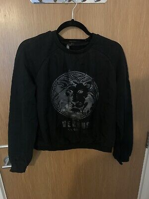 Versus Versace Black Sweatshirt Size M