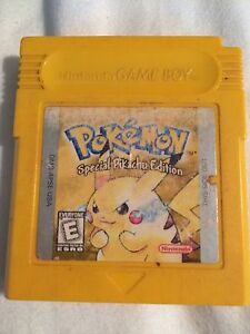 Pokemon Yellow Gameboy