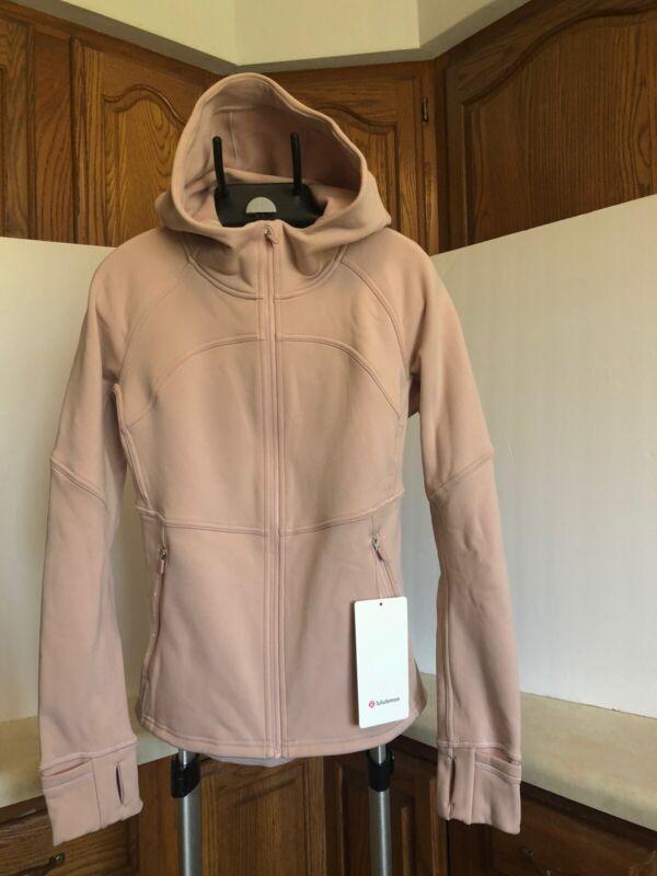 Lululemon Fleece Flurry Jacket NWT Size 10 availabe Mink Berry Light Weigt