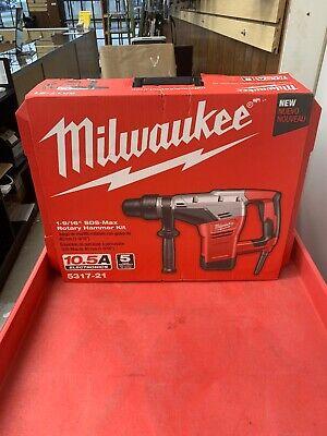 Milwaukee 5317-21 1-916 Inch Sds Max Rotary Hammer 161216