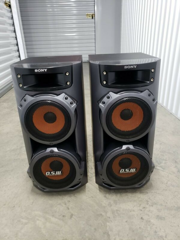 Sony LBT-ZX66i, SPEAKERS ONLY. SS-ZX66i. Perfect!!