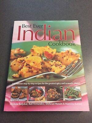 Best Ever Indian Cookbook 325 Step by Step Recipes 2008 Color Paperback