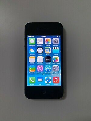 Apple iPhone 4s - 16GB - Black (Sprint) A1387 (CDMA + GSM) Smartphone