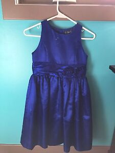 Girls Size 10 Dress - Royal Blue