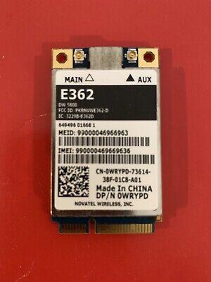 Wireless Card OWRYPD E362 Novatel Wireless, Cellular Wireless Card -