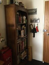 Vintage solid oak bookcase from England Tuncurry Great Lakes Area Preview