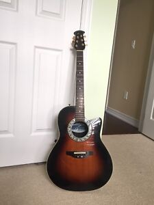 Ovation Pinnacle 3862 Guitar - Acoustic/Electric, Shallow Body