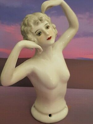 """Stunning Art Deco 1920s Style Half Pin Doll """"Dancer Flapper""""  Lady ~ Arms Away"""