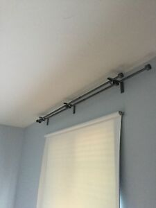 IKEA double curtain rod