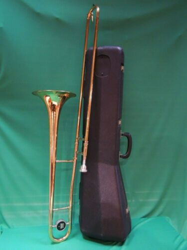King Tempo🎵 USA 606 Trombone Refurbished Marching Student 204545