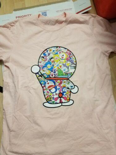 Used 2017 UNIQLO X TAKASHI MURAKAMI X DORAEMON SZ L T Shirt T-Shirt LARGE