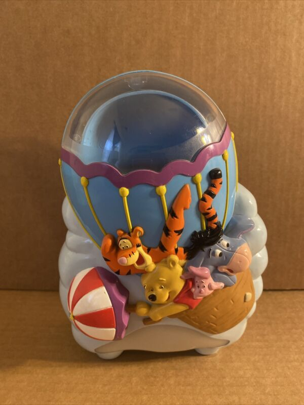 Disney Baby First Years Winnie The Pooh Musical Soother Crib Light Projector Vtg