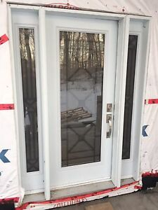 Custom Front Door with 2 side lights Kitchener / Waterloo Kitchener Area image 4