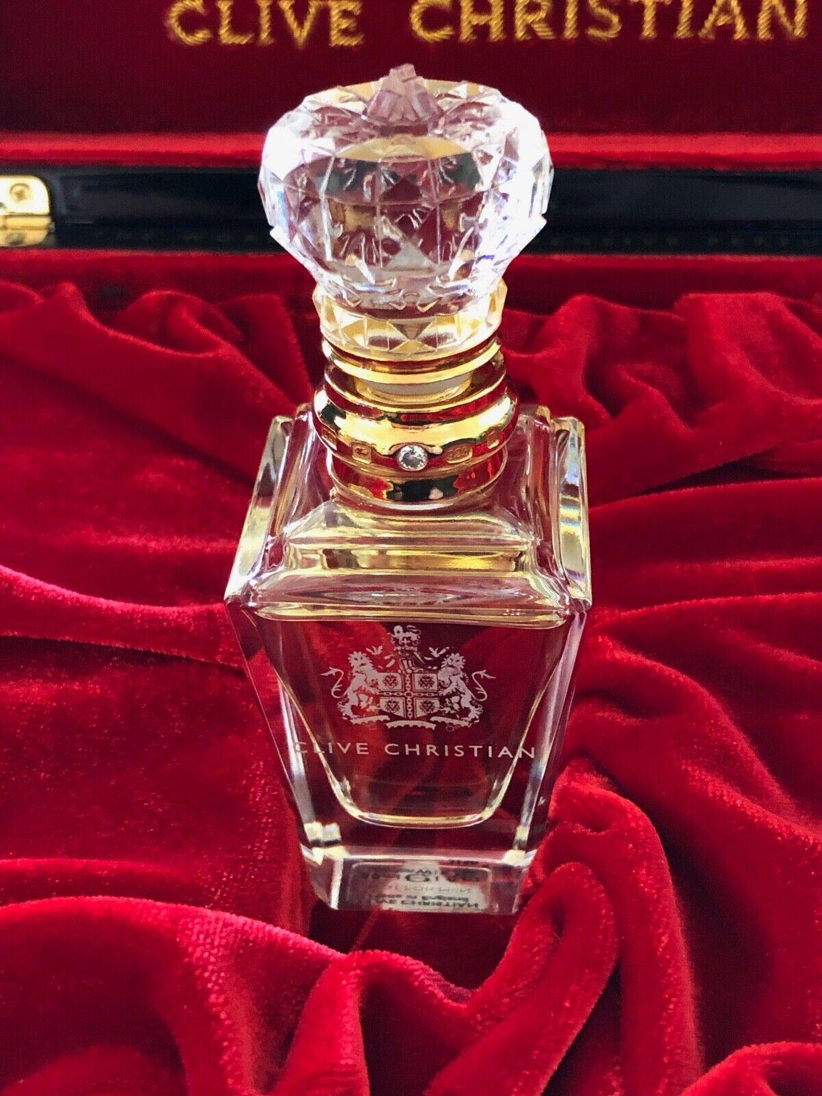 Genuine Clive Christian No. 1 Pure Perfume MEN Crystal Bottl