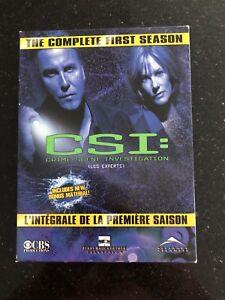 Coffret DVD - CSI Saison 1