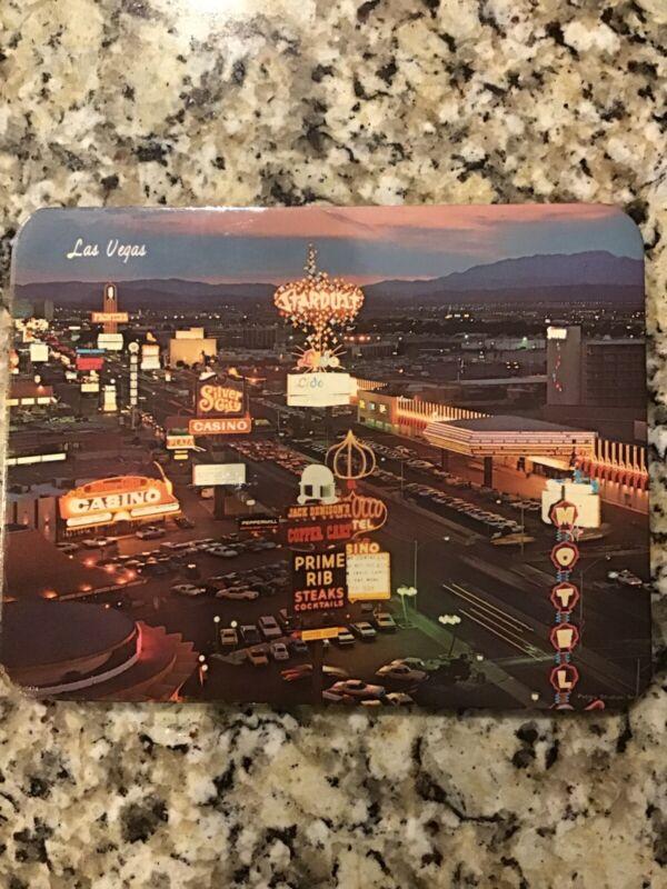 "Vtg Las Vegas Souvenir ""Hot Plaque"" STARDUST & SILVER CITY CASINO Petley Studios"