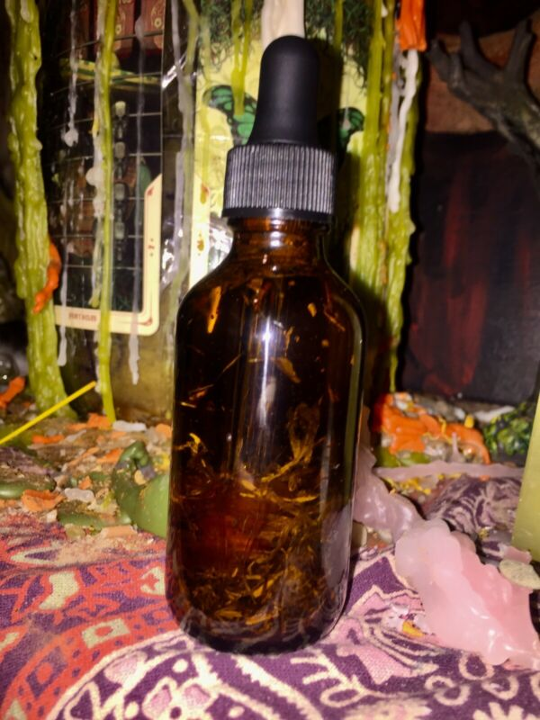 2OZ Hex Reverse Oil Protection Witchcraft Voodoo Hoodoo Pagan