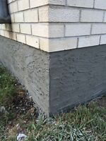 Parging & Concrete Repairs