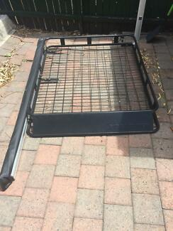 Ridge Ryder roof rack and kings awning