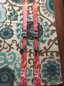 G3 Ace skis with G3 Telemark Bindings
