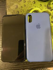 iPhone X 256G space grey
