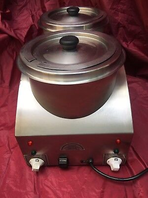 Victorian Electric Commercial Soup Warmer Kettle