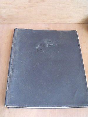 The I.C.M.E. Manual 1934-44 ICME Service Repair Times