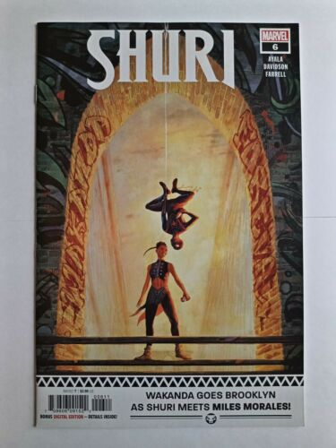 Shuri 6 first print cover a milles morales appearance VF+