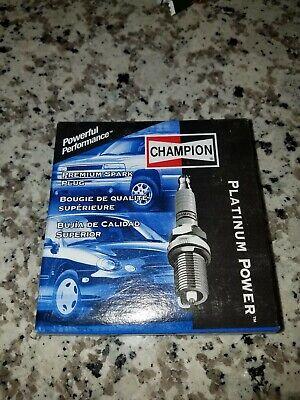 4 pc Champion 3344 Platinum Spark Plugs RC9PYC - Pre Gapped Ignition av