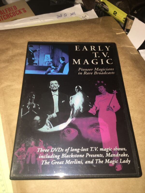 Early TV Magic Collection Pioneer Magicians Tricks Act Show history 3 DVD set