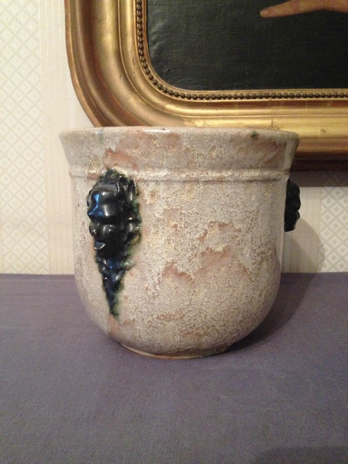 Cache pot c ramique xx eur 145 00 picclick fr - Cache pot ceramique ...