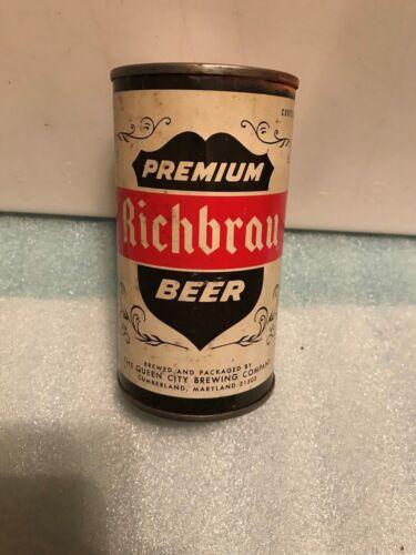 RICHBRAU PREMIUM 12OZ. BEER CAN BANK. Maryland