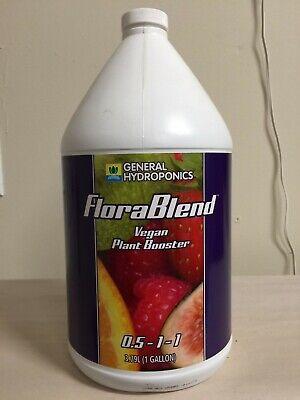 General Hydroponics FloraBlend 1 Gallon Vegan Compost Tea