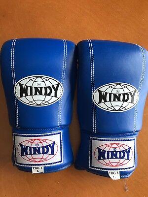 Windy Bag Gloves TBG-1, Large, Sparring Training Muay Thai Boxing MMA](Windy Boxing Gloves)