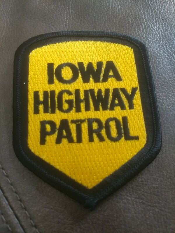 Iowa State Highway Patrol Police Patch
