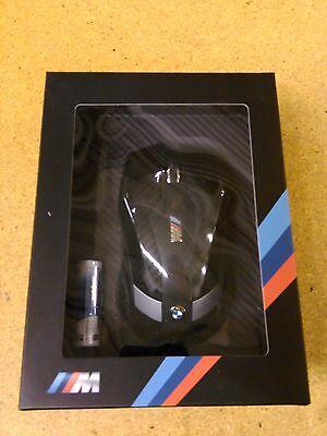 BMW OEM M Motorsport Wireless Mouse Infared Carbon Fiber Design 80292410405