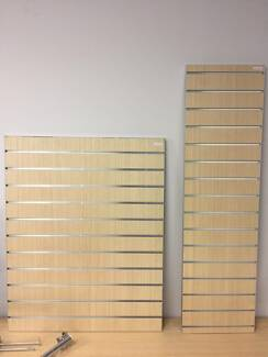 Slotted panels Slatwall in various sizes and colours ALL NEW!!!